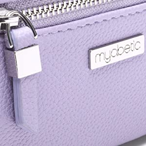 Myabetic James Diabetes Compact Case in lavender diabetes organizer diabetes case glucose test kit