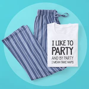 womens pjs,naps,party