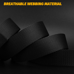 breathable webbing material