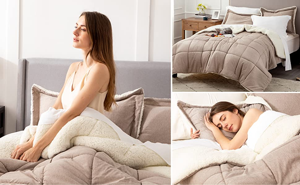 modal with comforter set