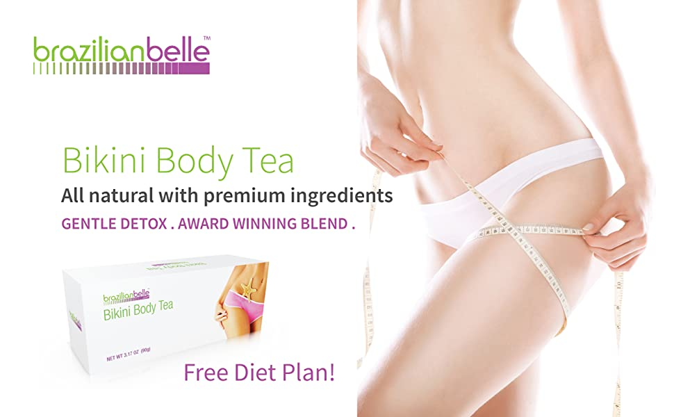 bikini body tea detox boost metabolism lose weight