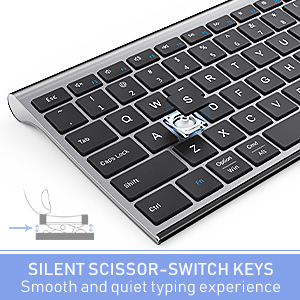 multi device wireless bluetooth keyboard full size slim space gray 1219 (6)