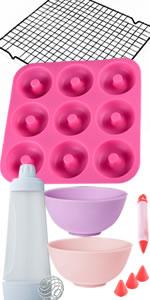 Fondant Fun Factory - Kit de suministros para decoración de tartas