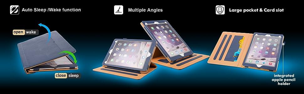 ipad 8th generation case with pocket