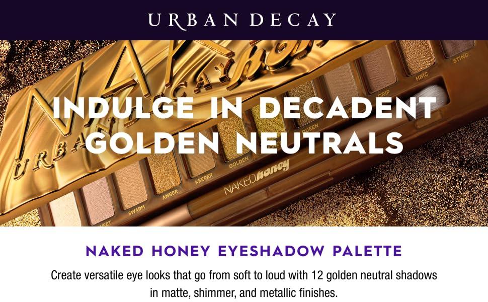 Urban Decay - Naked Honey Eyeshadow Palette