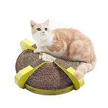round cat scratcher