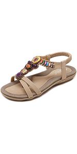 Gladiator Flat Dress Sandals