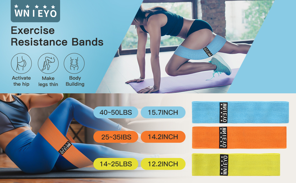 laoli Workout Bands Exercise Bands for Crossfit Workout and Physical Training for Men and Women 2020