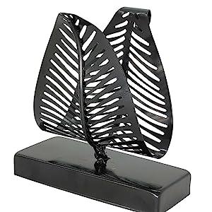 Freestanding Modern Napkin Holder with Leaf Design