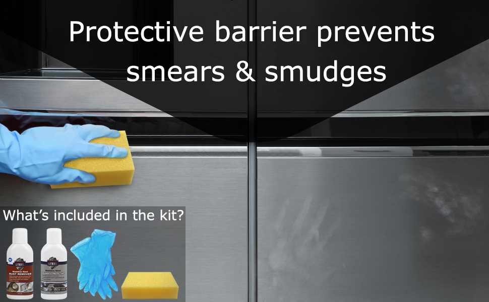 Protect from smears and smudges on stainless steel