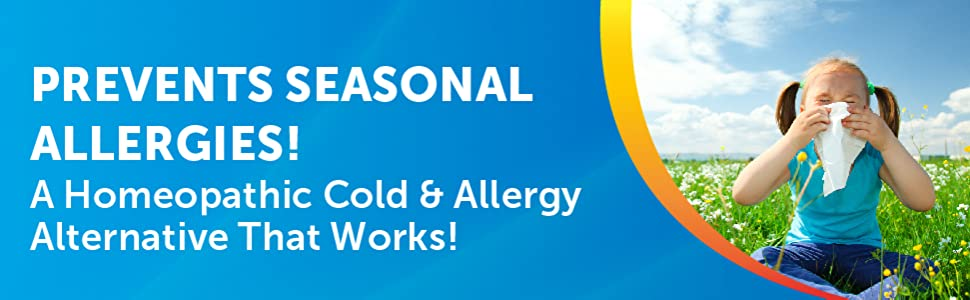 homeopathic cold allergy medicine seasonal allergies treatment preventative
