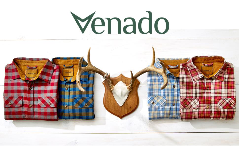 Flannel Shirt Deer Skull Whitetail Venado