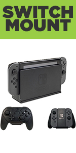 HIDEit Nintendo Switch Wall Mount - Mount for Nintendo Switch