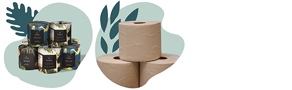 tushy, premium, bamboo, toilet paper, soft, sustainable, septic safe, three-ply, bidet,