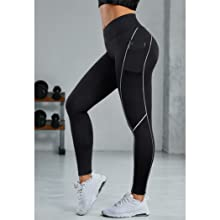 cross waist leggings