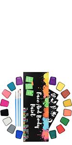 face paint kit 004