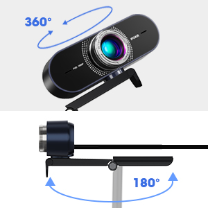 webcam with universal clip