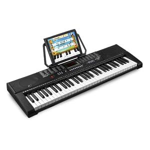 MAX KB2 Teclado electronico piano de 61 Teclas