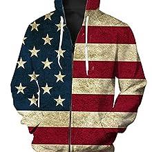 Unisex 3D Printed hoodied
