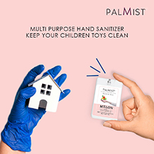 pocket sized sanitizer instant protection from germs