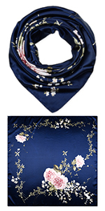 "35"" Polyester Square Scarves"