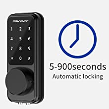electronic door locks for front door