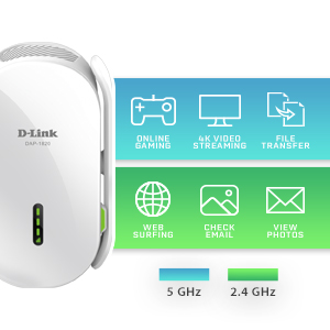 dual band wireless range extender