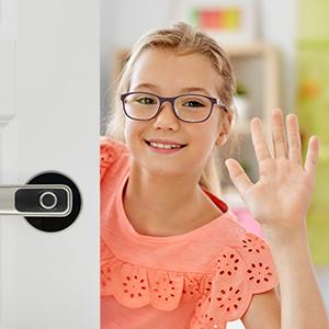 smart door locks for kids room