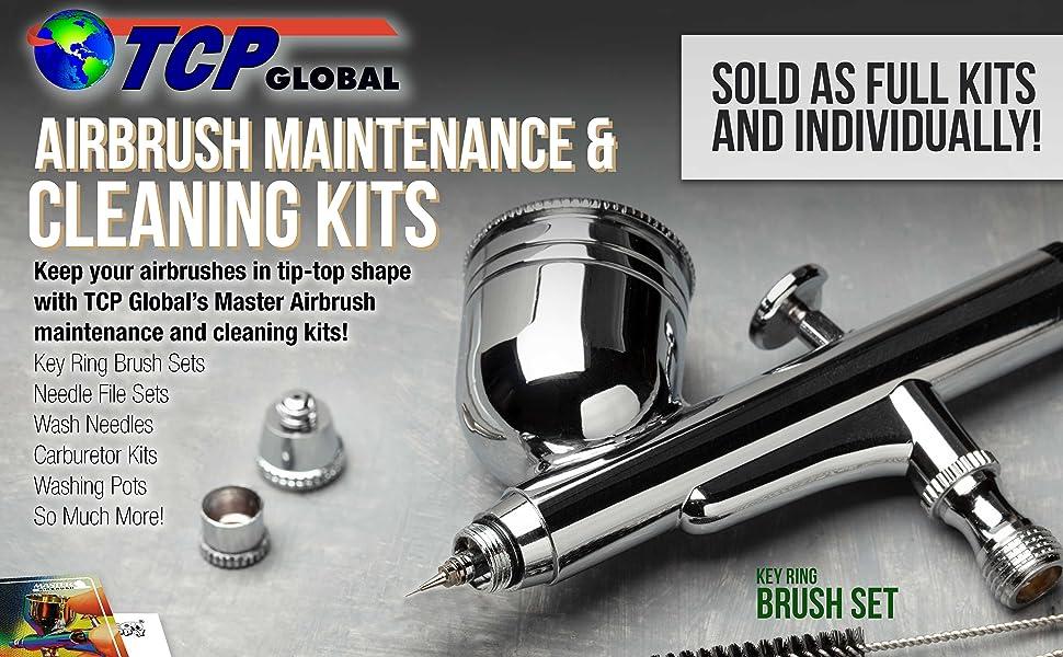 TCP Global Airbrush Maintenance amp; Cleaning Kits