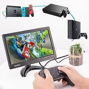 gaming monitor 10.1 monitor for PS 4/ X-BOX 360