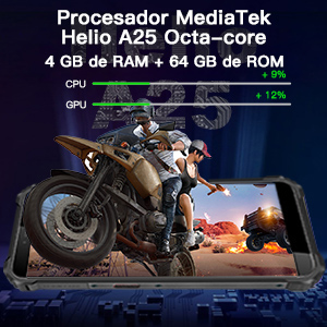 4GB ROM+64 GB ROM  Android 10.0