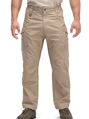 men military cargo pants ripstop lightweight tactical hiking hunting pant for men with pocket