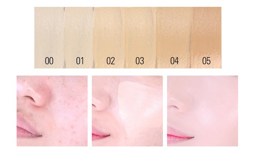 face scar blemishes spots eye circles cover makeup concealer