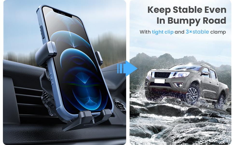 air vent car phone mount