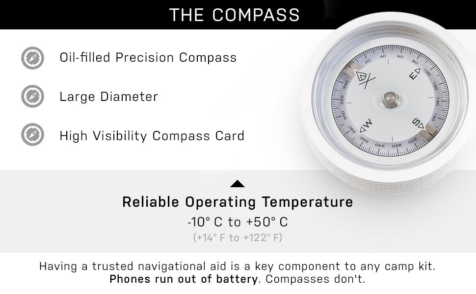 Oil-Filled Precision Compass
