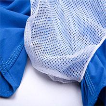 brief mesh lining