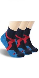 No Show Socks, Zonent Unisex Merino Wool Ultra-Light Women Low Cut Socks with Tab
