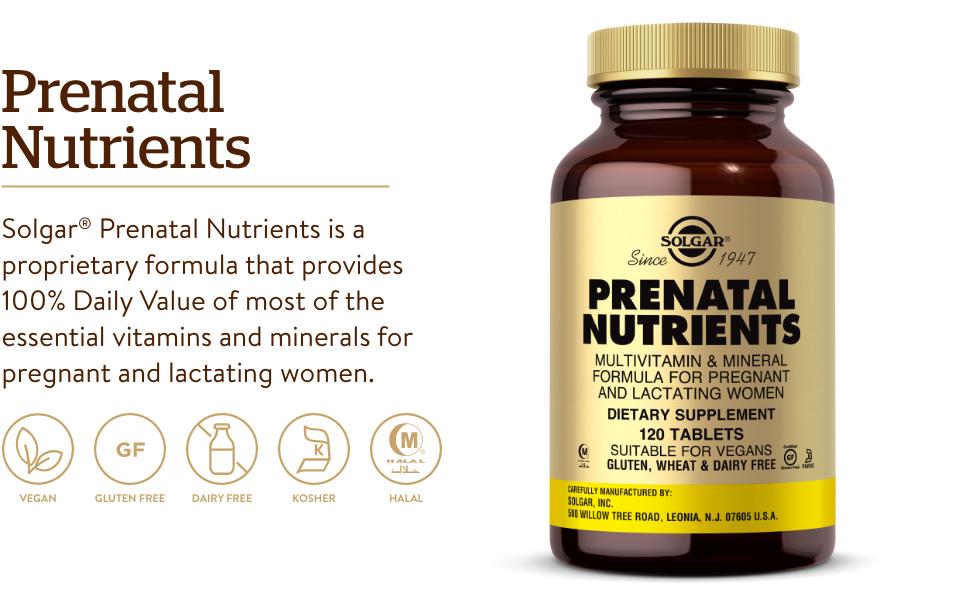 Multivitamin & Mineral Formula for Pregnant & Lactating Women