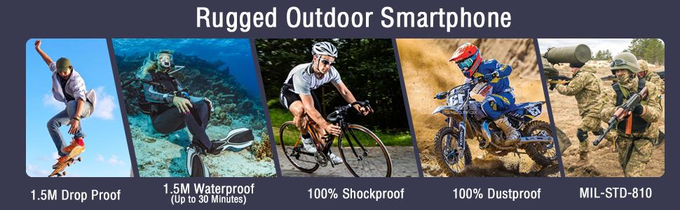 waterproof smartphone