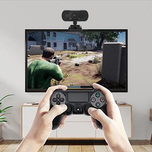 gaming camera for computer, webcam for pc, pc webcam, usb webcam,1080p web camera, webcam with mics