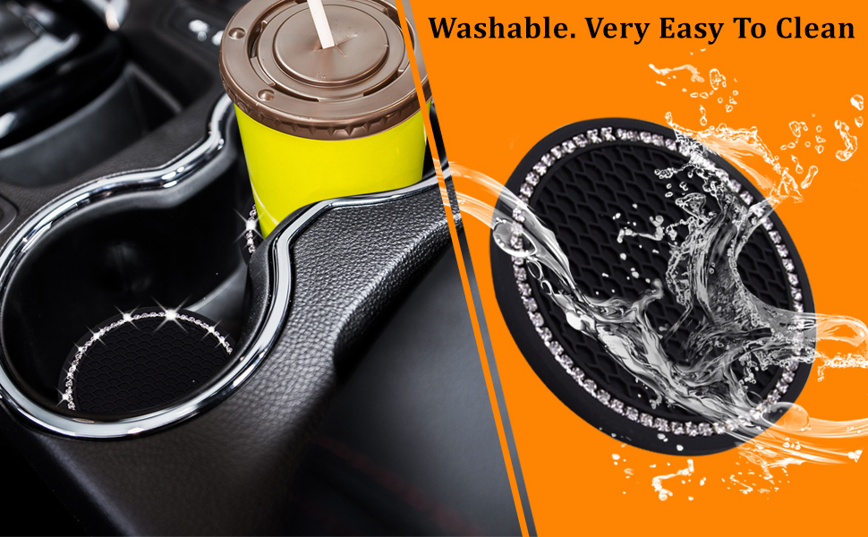 Washable. Very easy to clean.