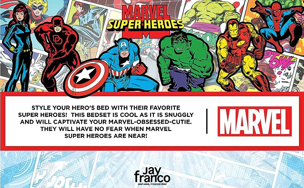 Marvel Avengers, Superhero