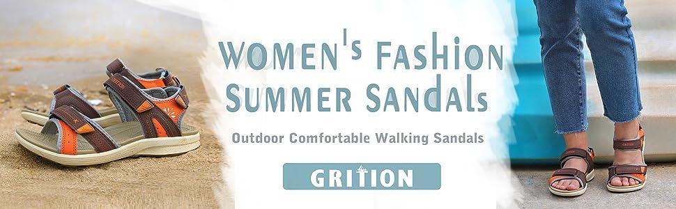 womens fashion summer sandals outdoor comfortable walking sandals hiking trekking travel shoes water
