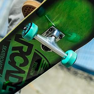 skateboard trucks and wheels