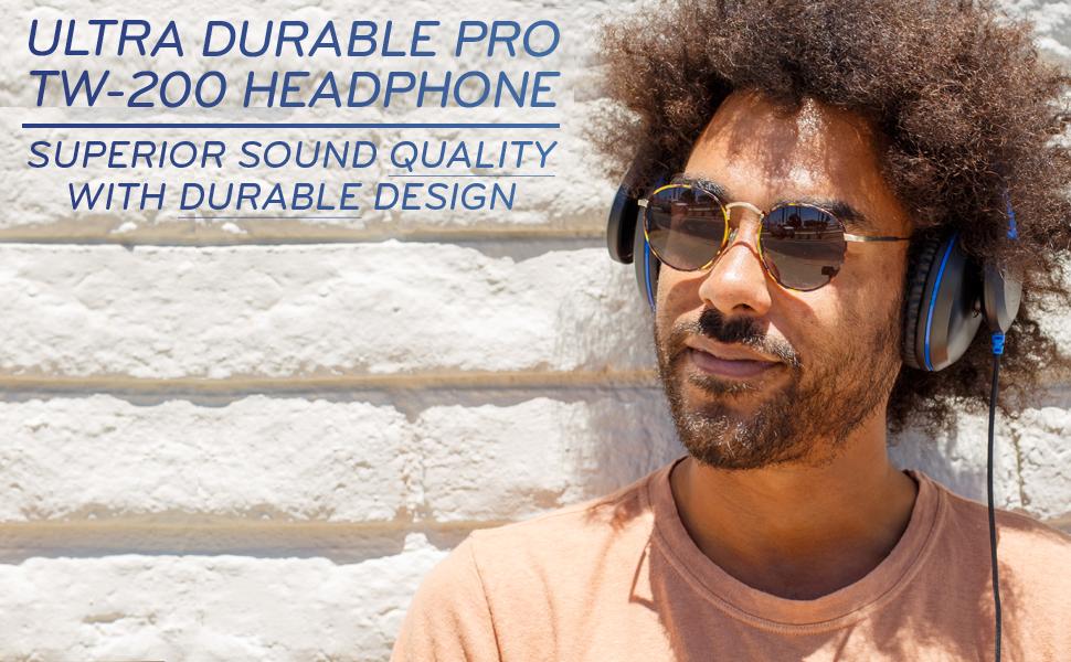Ultra Durable Pro TW-200 Headphone