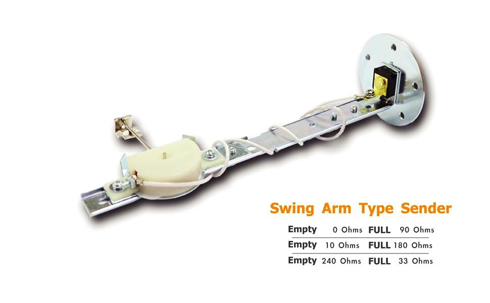 swing arm type sender