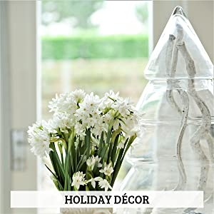 paperwhite holiday decor