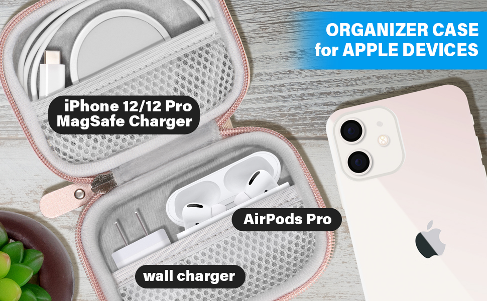 Organizer case for Apple devices