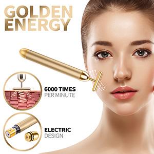 Beauty Bar 24k Golden Pulse Facial Massager