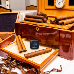 cigar humidor alert humidity sensor fresh taste